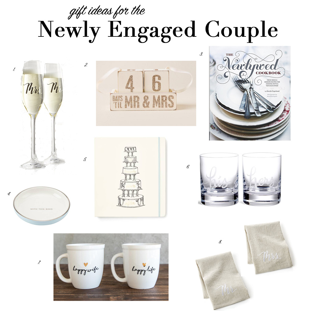 Gifts For Newly Weds: Gift Ideas For The Newly Engaged Couple